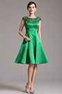 eDressit Capped Sleeves Illusion Sweetheart Green Cocktail Dress (X04160304)