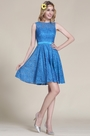 eDressit Blue Lace Bridesmaid Dress Cocktail Dress (07152605)