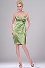 Strapless Light Green Party Dress Cocktail Dress (H04111914)