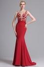 eDressit Red Sleeveless Mermaid Prom Gown Evening Dress (00163802)
