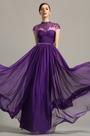 eDressit High Neck Purple Evening Dress Formal Wear (02154206)