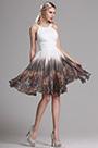 eDressit Robe de Cocktail Imprimée Licou Bretelle Dos Nu(X07152010)