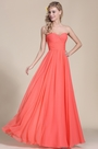 eDressit Strapless Sweetheart Coral Bridesmaid Dress (07154457)