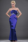 Strapless Royal Blue Evening Dress Prom Dress (H00112306)