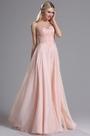 eDressit Sheer Neck Pink Floral Appplique Evening Dress Prom Dress (00164401)