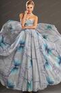 Gorgeous Printed Strapless Evening Dress (H00107506)