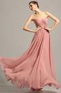 Sleeveless Illusion Sweetheart Neck Evening Dress (00154846)