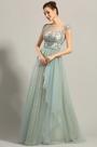 eDressit Cap Sleeves Embroidery Prom Dress Formal Dress (00153305)