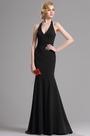 eDressit Black Halter Plunging V Neck Mermaid Prom Dress (00163200)