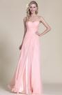 Strapless Sweetheart Pink Bridesmaid Dress Evening Dress (07153101)