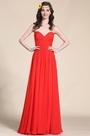Strapless Sweetheart Red Evening Dress Bridesmaid Dress (07153802)