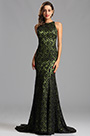 Sleeveless Army Green Long Formal Dress Evening Dress (X00155255)