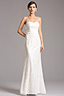 eDressit Strapless Sweetheart White Lace Formal Dress (X07153007)