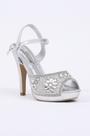 Silver Crystal High Heels (09150526)