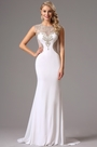 Beaded Sweetheart Neck White Prom Gown Formal Dress (36161707)