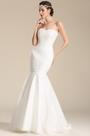 Strapless Sweetheart Trumpet Wedding Dress Bridal Gown (01151007)