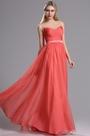 eDressit Coral Sweetheart Neckline Ruched Bridesmaid Dress (07160457)