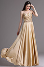 eDressit Gold Spaghetti Sequins Lace Prom Dress Ball Gown (00165624)