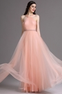 eDressit Pink Halter Neck Ruched Bridesmaid Prom Dress (07160601)
