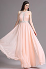 eDressit Lovely Pink Halter Ruched Ball Dress Beach Dress (00164701)