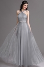 eDressit Grey Halter Neck Ruched Summer Bridesmaid Formal Dress (07160608)