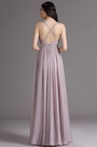 eDressit Violet Halter Beaded Bridesmaid Dress with Embroidery (00164716)