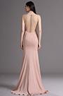 eDressit Blush Sleeveless Mermaid Evening Gown Prom Dress (00165546)