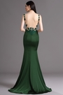 eDressit Green Figure-flattering Mermaid Dress with Lace Appliques (02165804)