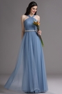eDressit Blue Halter Neck Ruched Summer Bridesmaid Dress (07160605)