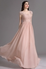 eDressit Blush Cap Sleeves Embroidery Beaded Prom Dress (02165046)