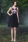 eDressit Sleeveless Pink Lace Evening Cocktail Dress (04170101)