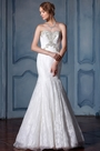 eDressit Strapless Beaded Lace Wedding Dress (F04014137)