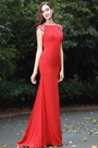 eDressit Latest Red Beaded Evening Dress for Women (00170102)