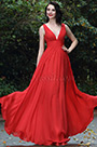 eDressit Red Sexy Chiffon Bridesmaid Dress Evening Gown (00170402)