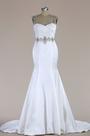 eDressit Sleeveless Beaded Mermaid Wedding Dress (F09060015)