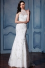 eDressit Halter Lace Tulle Mermaid Bridal Gown (F09010011)