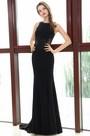 eDressit Black Sleeveless Lace Appliques Mermaid Dress (36170300)