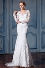eDressit Long Sleeves Lace Wedding Dress (F02010016)