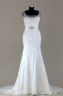 eDressit Sleeveless Beaded Lace Mermaid Wedding Dress(F02000100W)