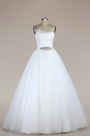eDressit One Shoulder Tulle Mermaid Wedding Dress (F02000200)