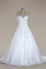 eDressit Sleeveless Lace and Tulle Mermaid Wedding Dress (F02020183W)