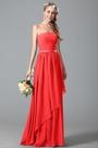 eDressit Strapless Red Bridesmaid Dress With Asymmetric Hem (07156302)