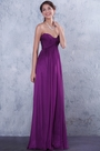 eDressit Strapless Purple Pleated Bridesmaid Dress (07156212)