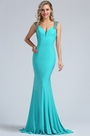 eDressit Light Blue Beaded Mermaid Evening Gown (36173532)