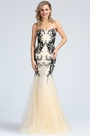 eDressit Strapless Beige Beaded Embroidery Prom Dress (36173714)