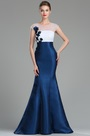 eDressit White & Blue Floral Mermaid Ladies Dress Ball Gown (02180705)