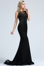 eDressit Sleeveless Black Beaded Lace Mermaid Dress (36173300)