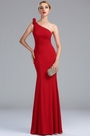 eDressit One Shoulder Red Long Women's Formal Gown (00173402)
