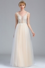 eDressit Sleeveless Ivory Lace Appliques Wedding Dress (01173013)