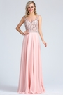 eDressit Sleeveless Pink Beaded Prom Evening Dress (36173001)